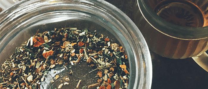 薬膳茶メニュー